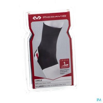 Mcdavid Ankle Brace Elastic Black Xl 511