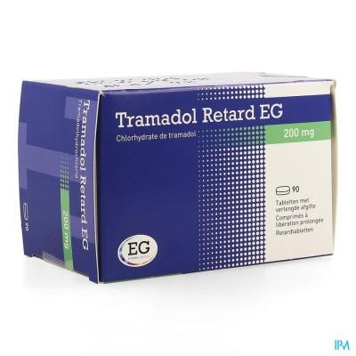 Tramadol Retard Eg 200mg Tabl 90 X 200mg