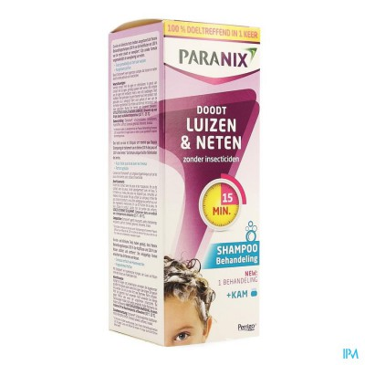 Paranix Behandelingsshampoo 200ml + Kam