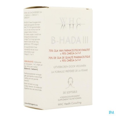 B-hada III Softgels 30