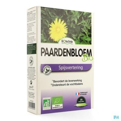 Paardebloem Bio Amp 20x10ml Biotechnie