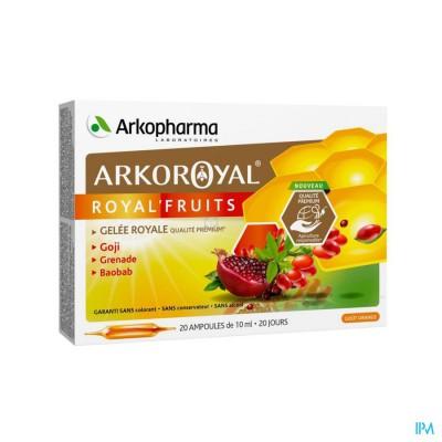 Arkoroyal Royal Vruchten Amp 20x10ml