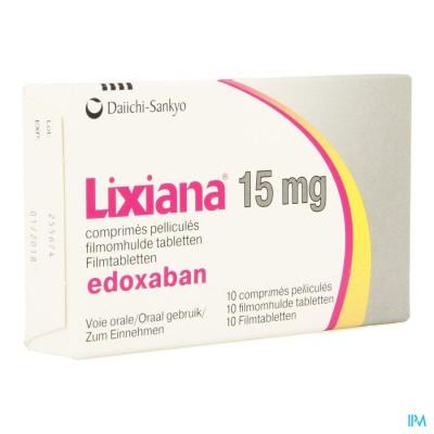 Lixiana 15mg Filmomh Tabl 10 X 15mg