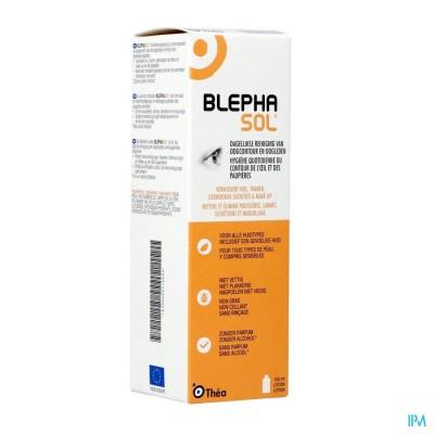 Blephasol Reinigingslotion Steriel Oogleden 100ml
