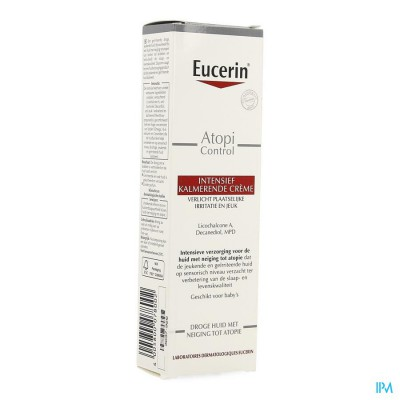 Eucerin Atopicontrol Cr Intensief Kalmerend 40ml