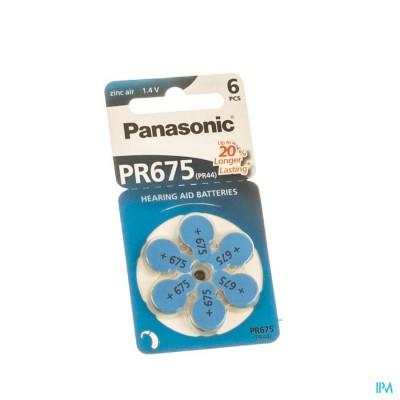 Panasonic Batterij Oorapparaat Pr 675h 6