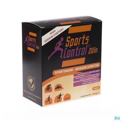 Sportscontrol 2win Tropical Pdr Zakje 6x37,75g