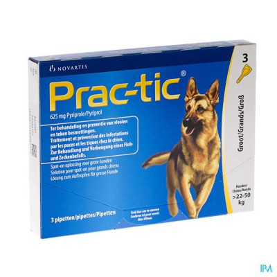 Prac-tic Spot-on A/vlo-teek Grote Hond Pip.1x3