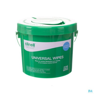 Clinell Universal Wipes Bucket 225 St