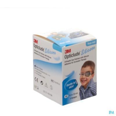 Opticlude 3m Silicone Eye Patch Boy Midi 50