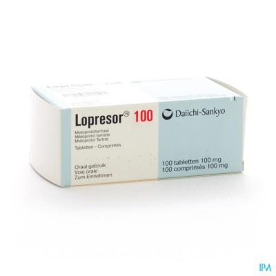 Lopresor Comp 100 X 100mg