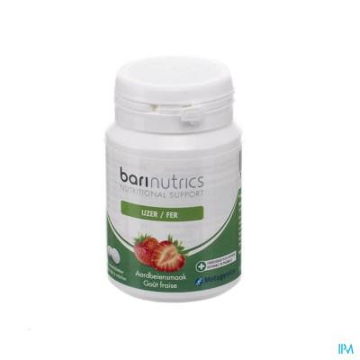 Barinutrics Ijzer Aarbei Kauwtabl 90