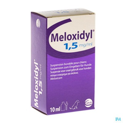 Meloxidyl Ceva 1,5mg/ml Fl Gutt 10ml