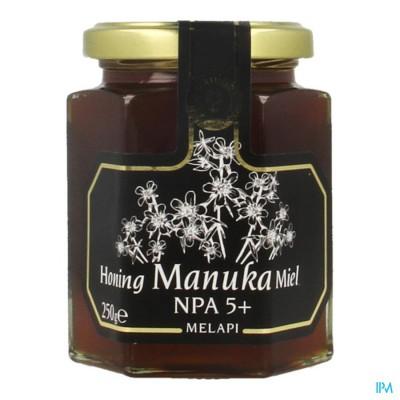 Melapi Honing Manuka Npas+mg085 Vloeib. 250g 3058