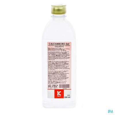 Calciumboro-kel Inspuitbare Oplossing 500ml