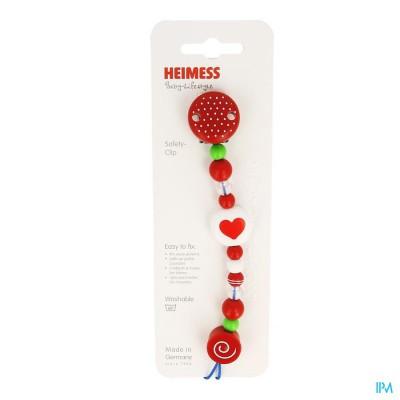 Heimess Fopspeenketting Plastic Hart H732610