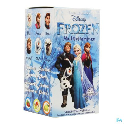 Disney Multivitamines Frozen Gum. 60