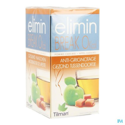 Elimin Break 0% Appel-karamel Tea-bags 20