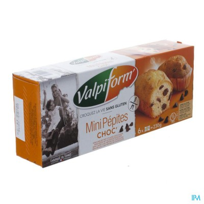 Valpi Mini Cakes Chocolade Glutenvrij 6x40g 4017