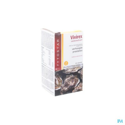 Fytostar Vivirex Oesterextract Caps 60
