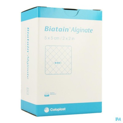 Biatain Alginate 5cmx 5cm 30 3705