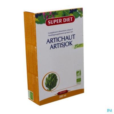 Super Diet Artisjok Bio Vertering Amp 20x15ml
