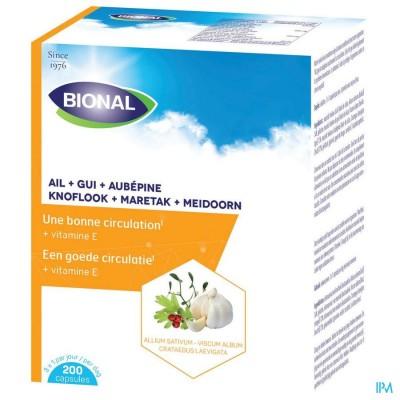 Bional Look+mistel+meidoorn+vit E Caps 200