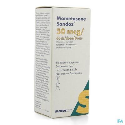 Mometasone Sandoz Neusspray 1 X 140 1 Fl
