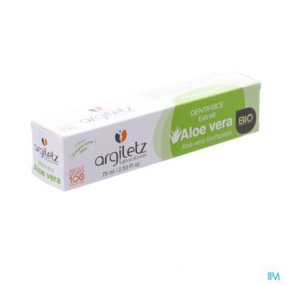 Argiletz Tandpasta Klei Natuur Aloe Vera Bio 75ml