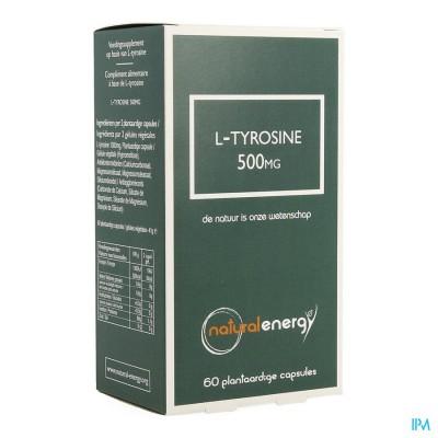 l-tyrosine Natural Energy 500mg Caps 60