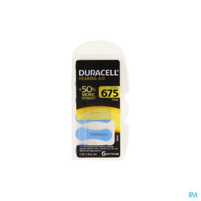 Duracell Easytab Hoorbatterij Da675 6 Blauw