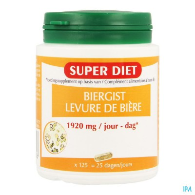 Super Diet Biergist Caps 125