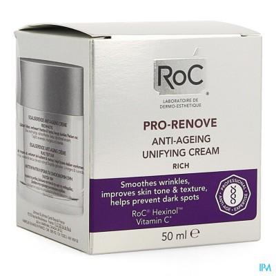 Roc Pro-renove Creme A/age Rijk Egaliserend 50ml