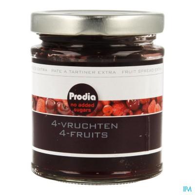 Prodia Broodbeleg Extra 4 Vruchten 215g 5681