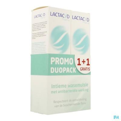 Lactacyd Pharma A/bact 2x250ml 1+1