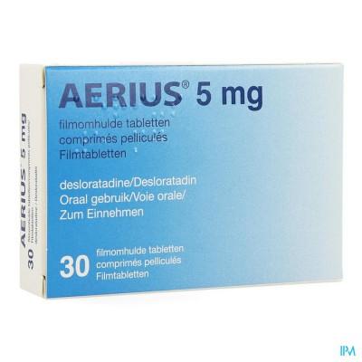 Aerius 5mg Pi Pharma Filmomh Tabl 30 X 5mg