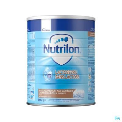Nutrilon Lactosevrij Zuigelingenmelk vanaf de geboorte poeder 800g