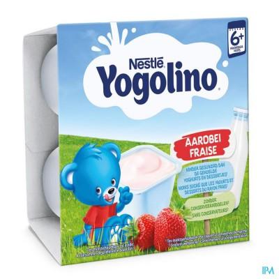 Nestle Yogolino Strawberry 4x100g