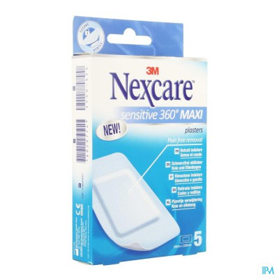 Nexcare 3m Sensitive Skin Maxi 1 Maat 5