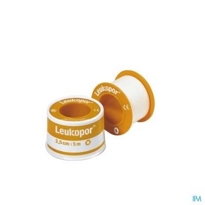 Leukopor Deksel Kleefpleist. 2,50cmx5,0m 1 0247200