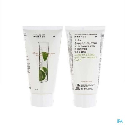 Korres Kh Styling Gel Lime 150ml