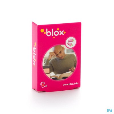 Blox Concentratie A/lawaai Oordoppen 3 Paar