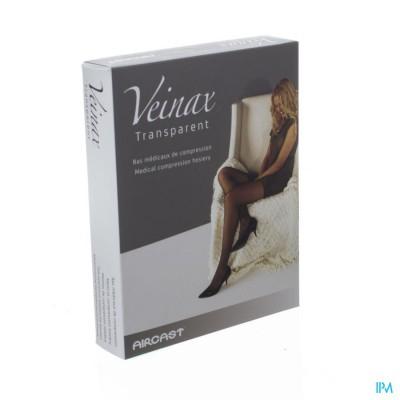 Veinax Hold-ups Transparant 2 Lang Zwart Maat 2