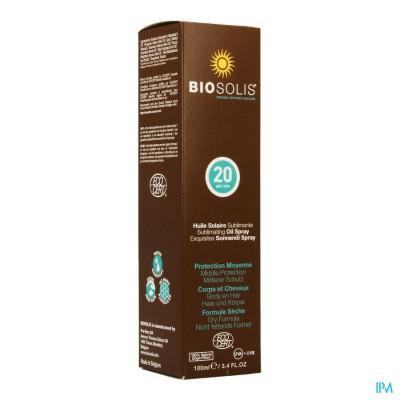 Biosolis Zonne Olie Ip20 Spray 100ml