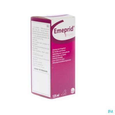 Emeprid 1mg/ml Ora Opl Hond Kat 125ml