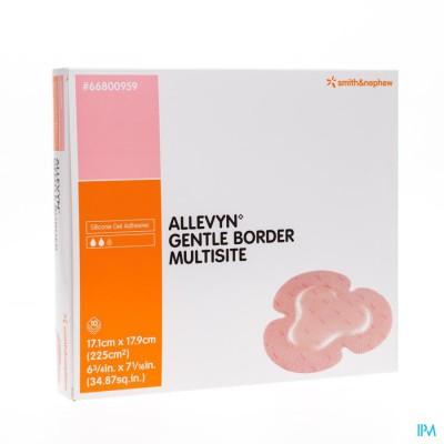 Allevyn Gentle Border Ster 17,5x17,5cm 10 66800273