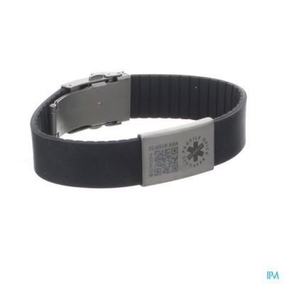 Armband Myqrp Zwart 1