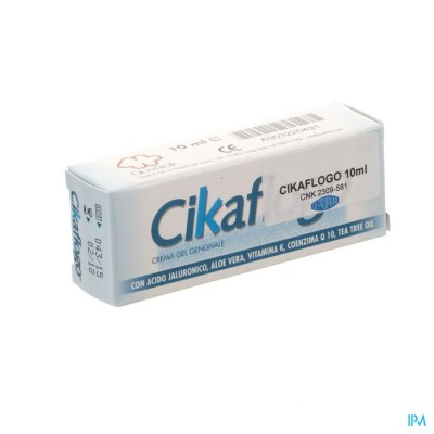 Cikaflogo Creme Tandvlees Tube 10ml