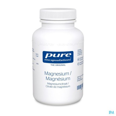 Pure Encapsulations Magnesium Citraat Caps 90
