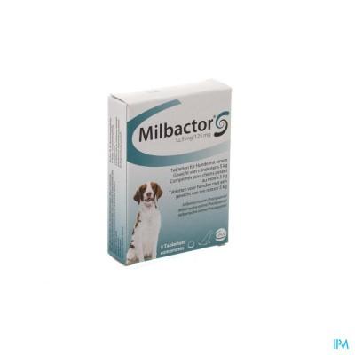 Milbactor 12,5mg/125mg Comp 4